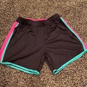 Athletic style shorts